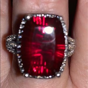 Jewelry - Natural Rhodolite Garnet Ring